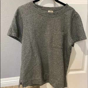 J.CREW sweatshirt packet tee